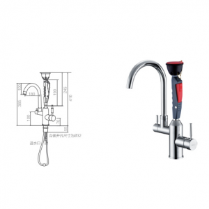 ODM Supplier Compound Stainless Steel Antifreeze Shower And Eye Wash With Foot Pedal And Anticorrosion Coating And Dust Basin