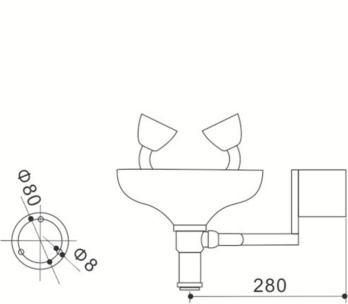 China Gold Supplier for Lab Equipment Functions - Eye wash – Sateri