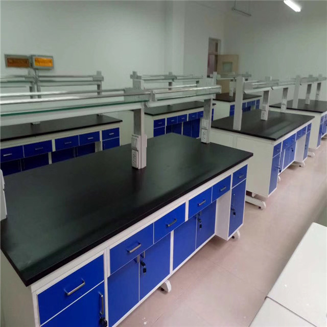 2019 wholesale price Anti-acid Lab Furniture Mobile Laboratory Table Bench For Middle School Featured Image