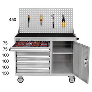 Tool cabinet-combination