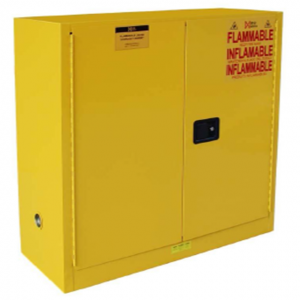 2019 High quality 45 Gallon Yellow Flammable Chemical Explosion-proof Storage Safety Cabinet