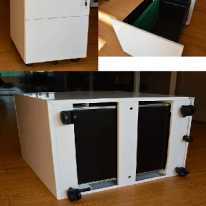 Mobile tool cabinet-combinetion
