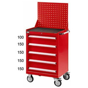 Mobile tool cabinet-heavy duty